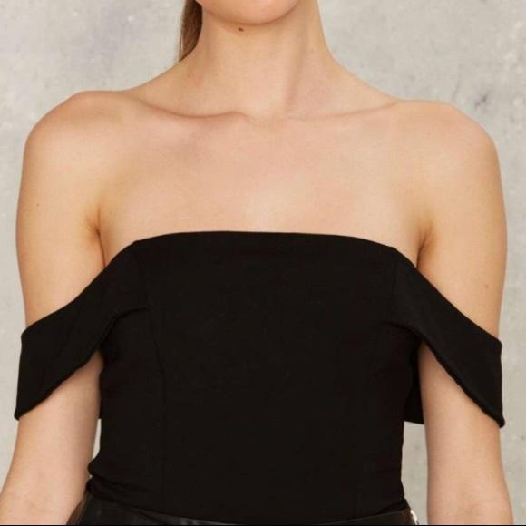 Lavish Alice Off-shoulder Bodysuit